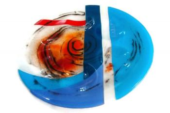 Passover bowl - parting the red sea