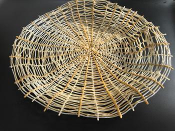 Brown farmer basket